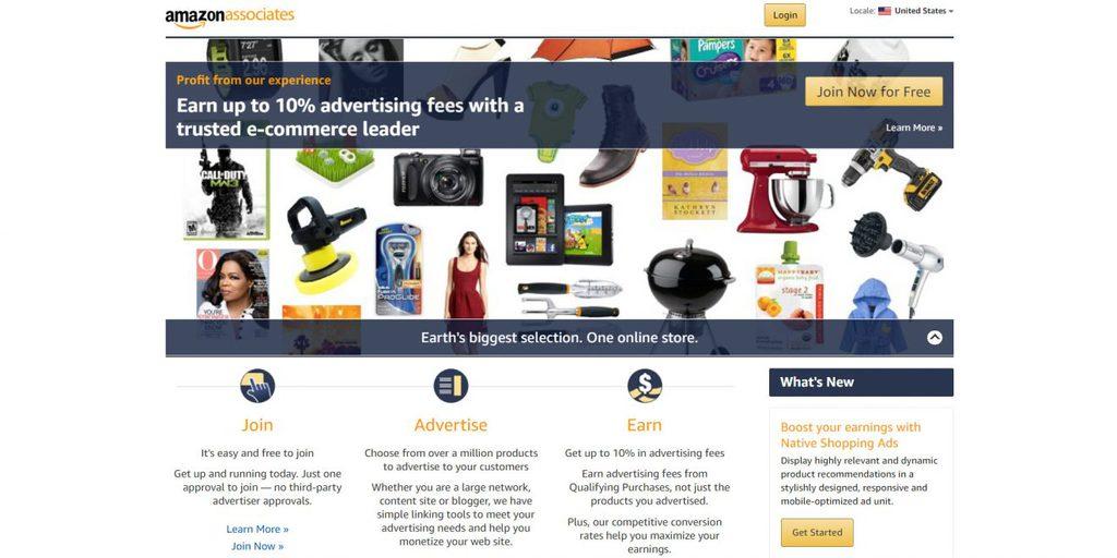 amazon affiliate cách tạo blog kiếm tiền