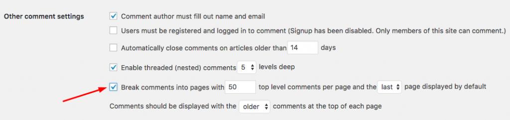 tách bài viết thành nhiều trang để tăng tốc WordPress