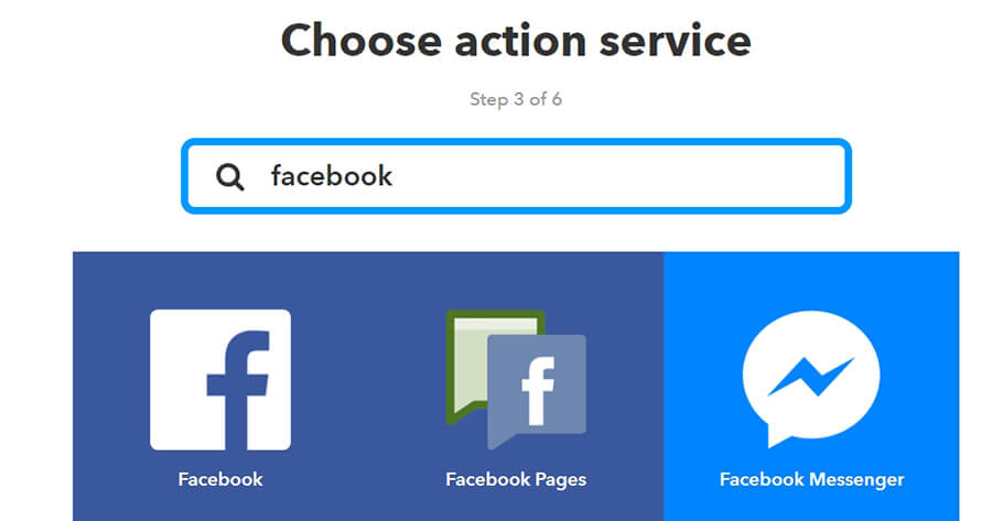 Tìm dịch vụ Facebook