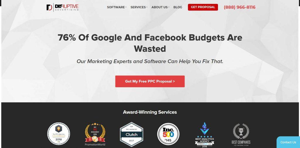 công ty social media marketing disruptive