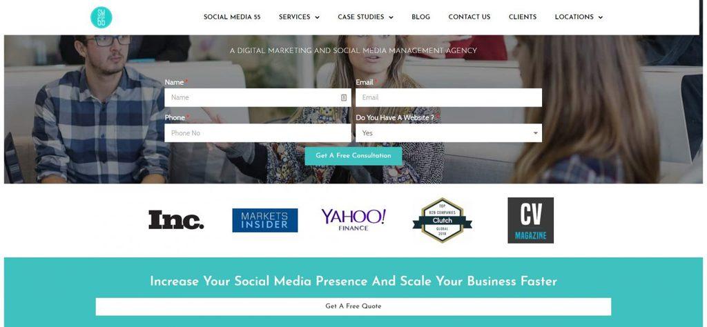 công ty social media marketing socialmedia55