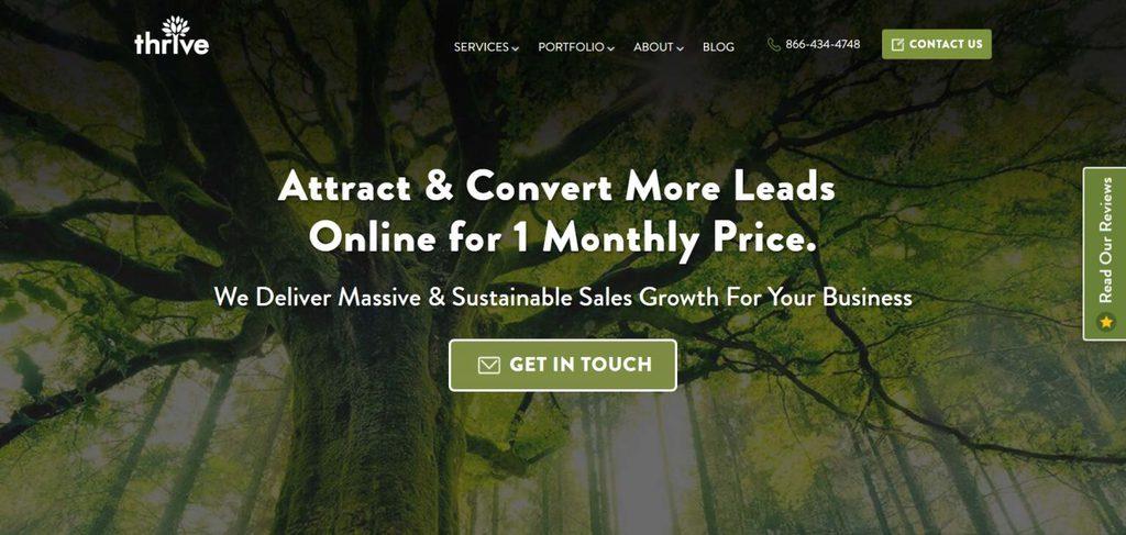 công ty social media marketing thriveagency