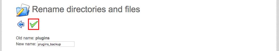 đổi tên plugin để sửa lỗi wordpress redirect loop