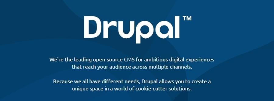 Trang chủ Drupal.