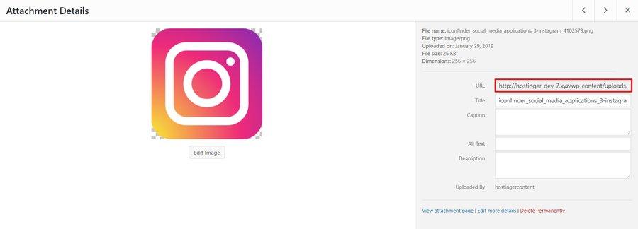 đường dẫn icon mạng xã hội