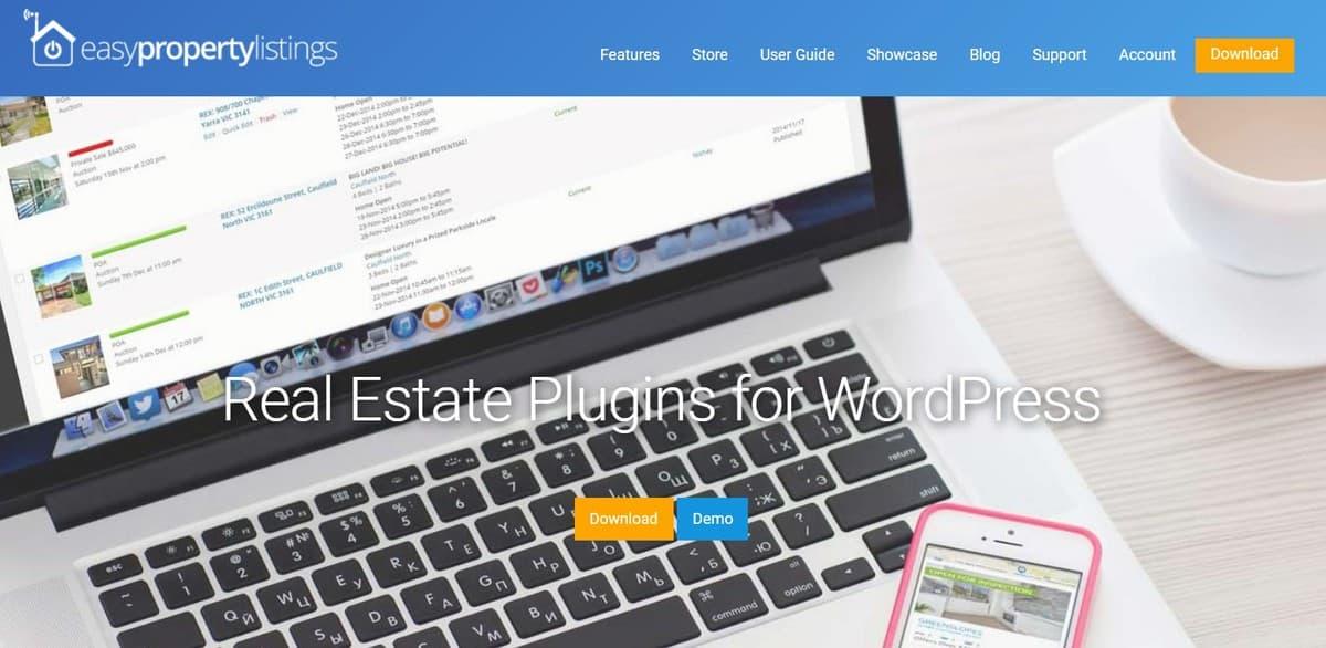 easy property listing WordPress real estate plugin