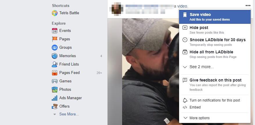 Nút nhúng của Facebook