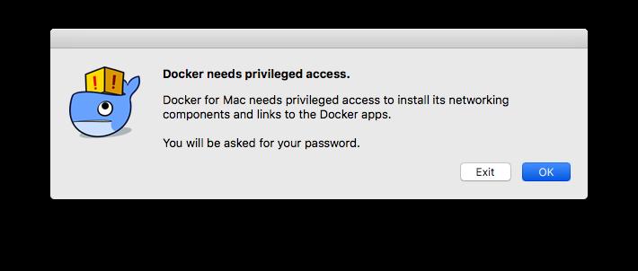 Docker cho Mac