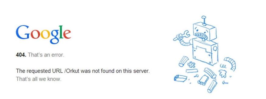 error 404 chrome