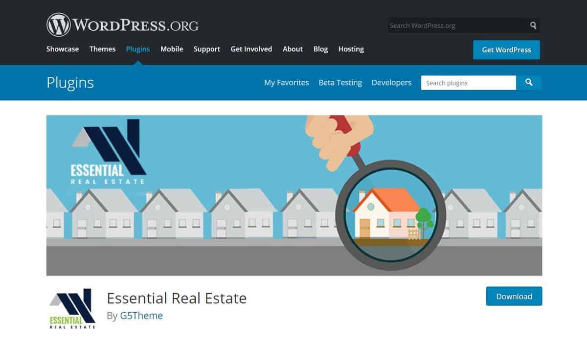 essential real estate plugin trang WordPress