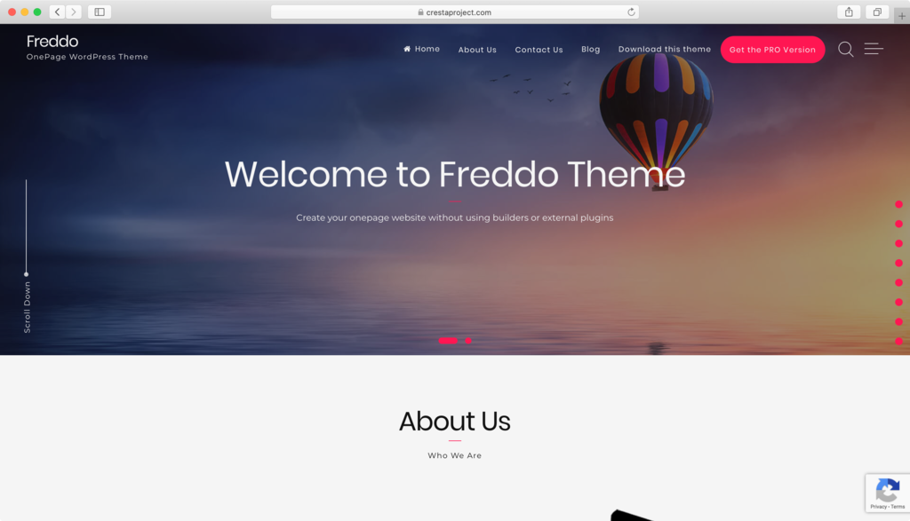 Theme Free WordPress - Freddo