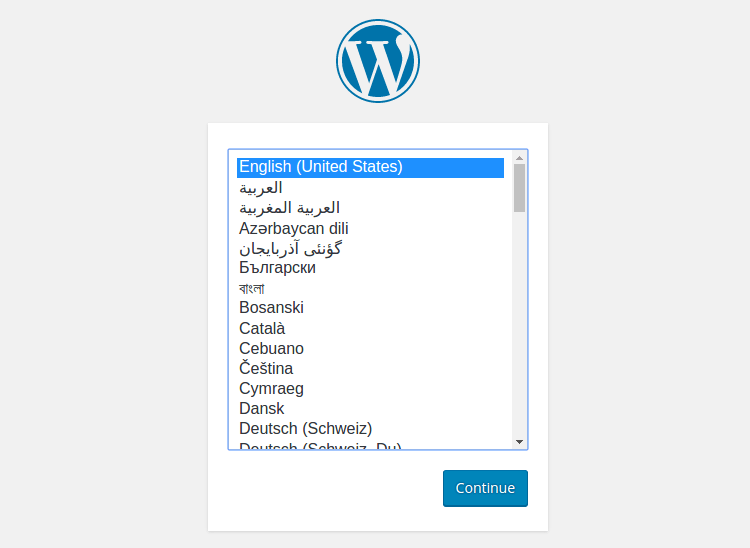 WordPress được upload thành công