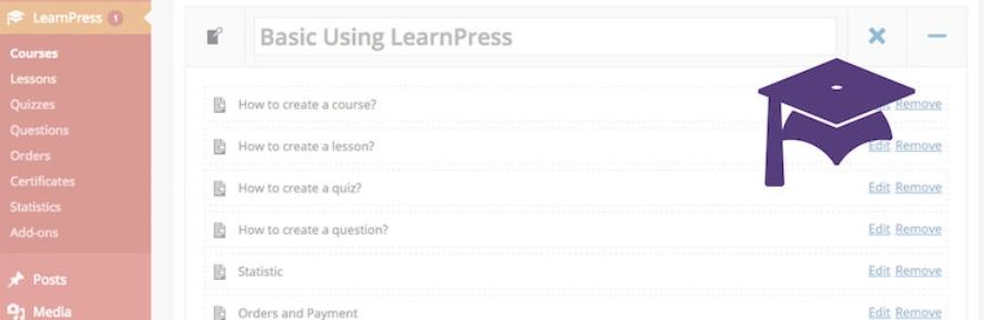 Plugin LearnPress.