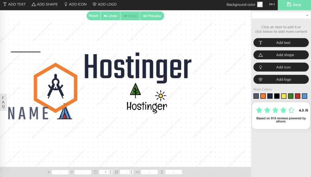 thiết kế logo online