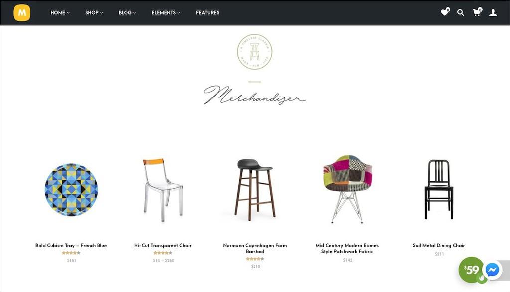 merchandiser woocommerce theme
