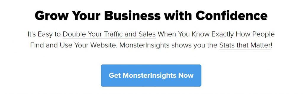 MonsterInsights Google Analytics WordPress plugin