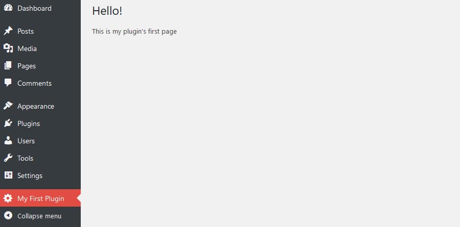 WordPress Plugin Tutorial - Plugin Created