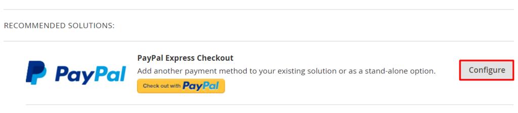 cấu hình PayPal trong magento