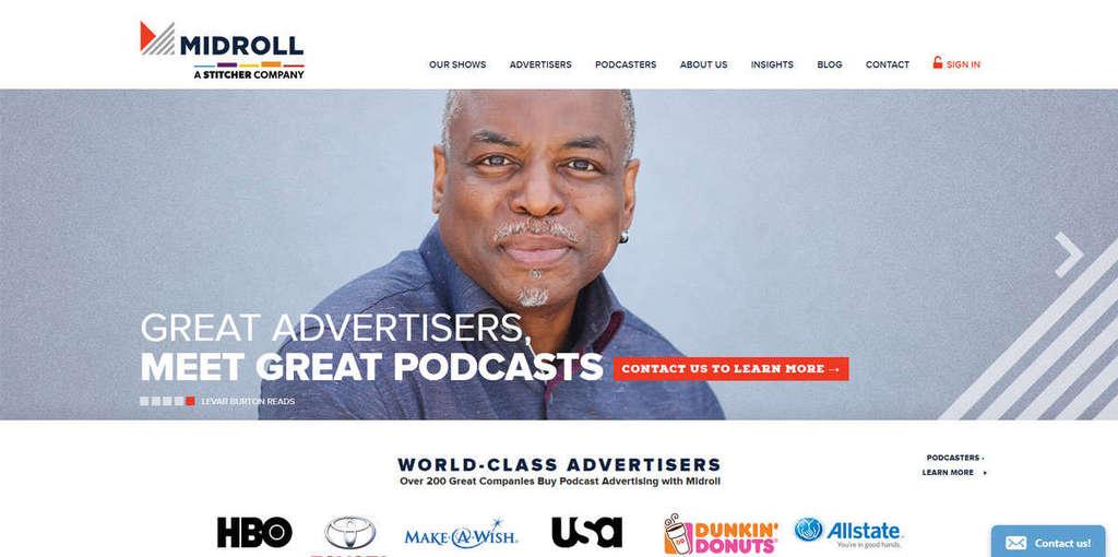 podcast advertising tạo blog kiếm tiền