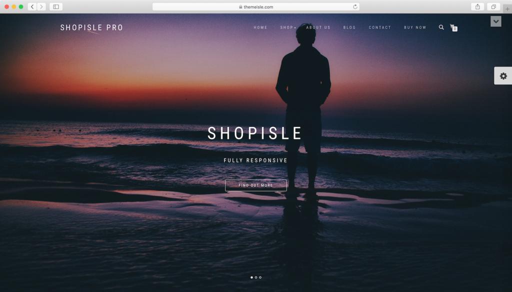 WordPress theme miễn phí ShopIsle