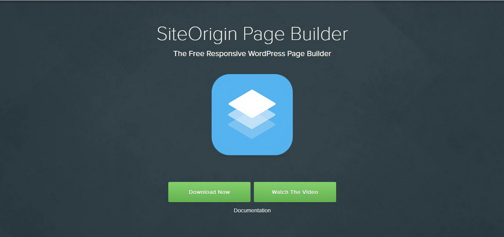 page builder wordpress siteorigin