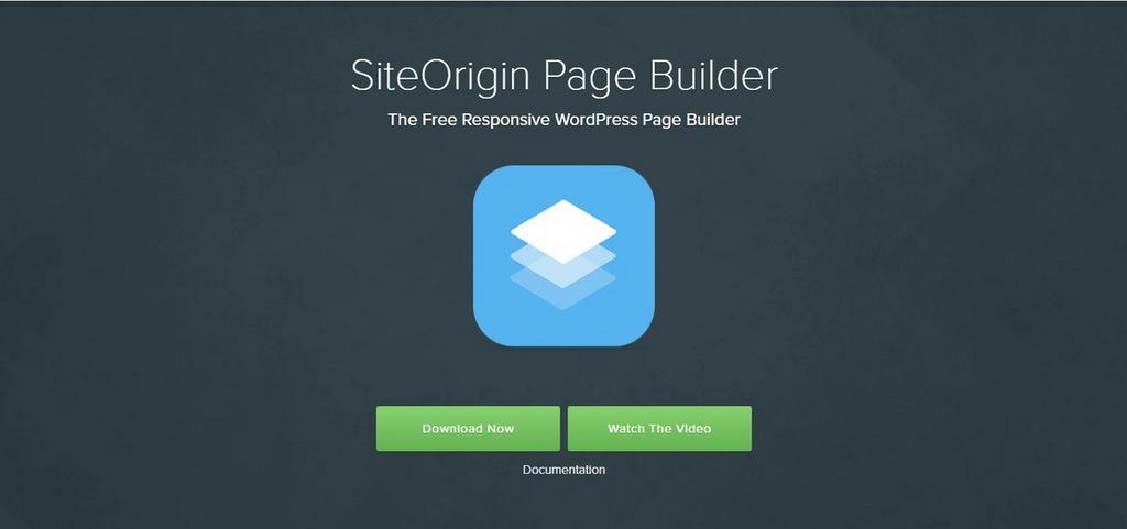 page builder wordpress siteorigin
