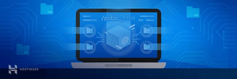 chuyển files tới thư mục public_html