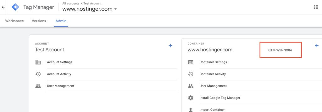 Code cho Google tag manager và wordpress