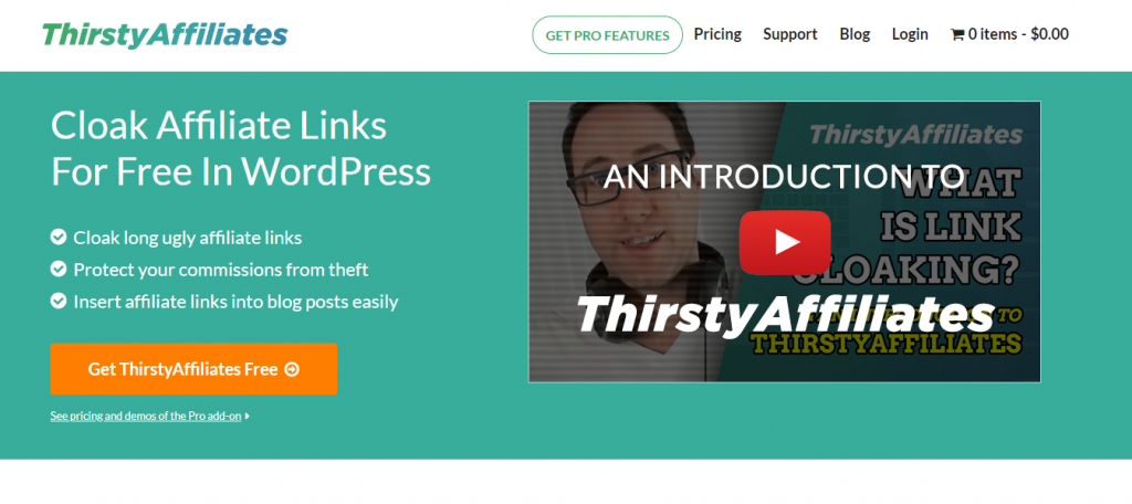 plugin affiliate marketing ThirstyAffiliates