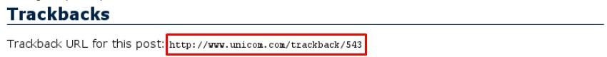 trackback là gì