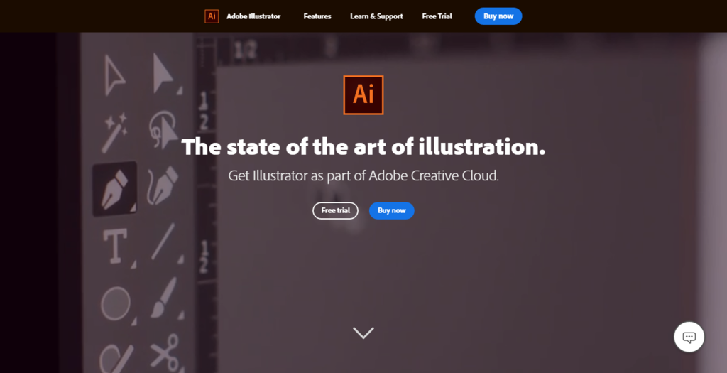 trang chủ adobe illustrator