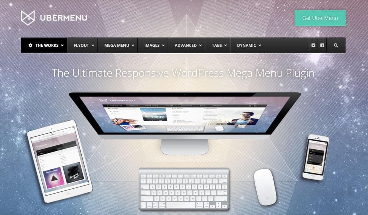 menu WordPress thân thiện người dùng tích hợp với smart style generator