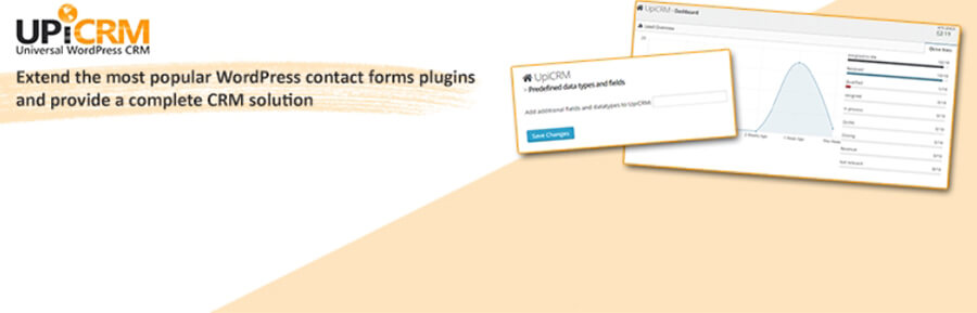 WordPres CRM plugin UpiCRM .