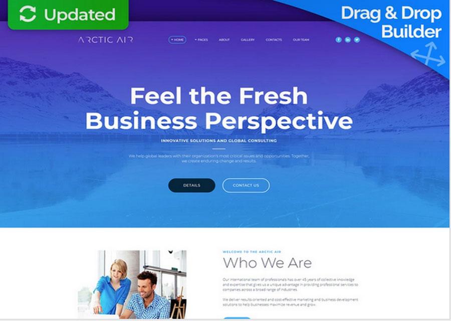 template website builder 10