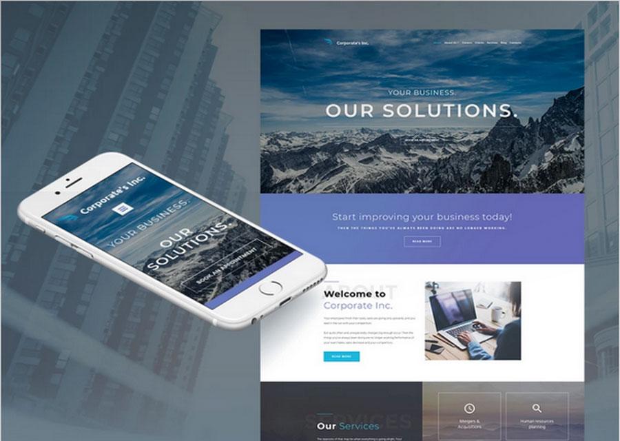 template website builder 16