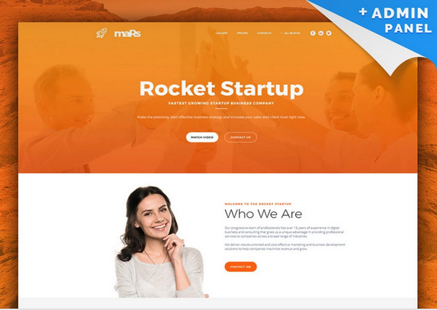 website builder template 18