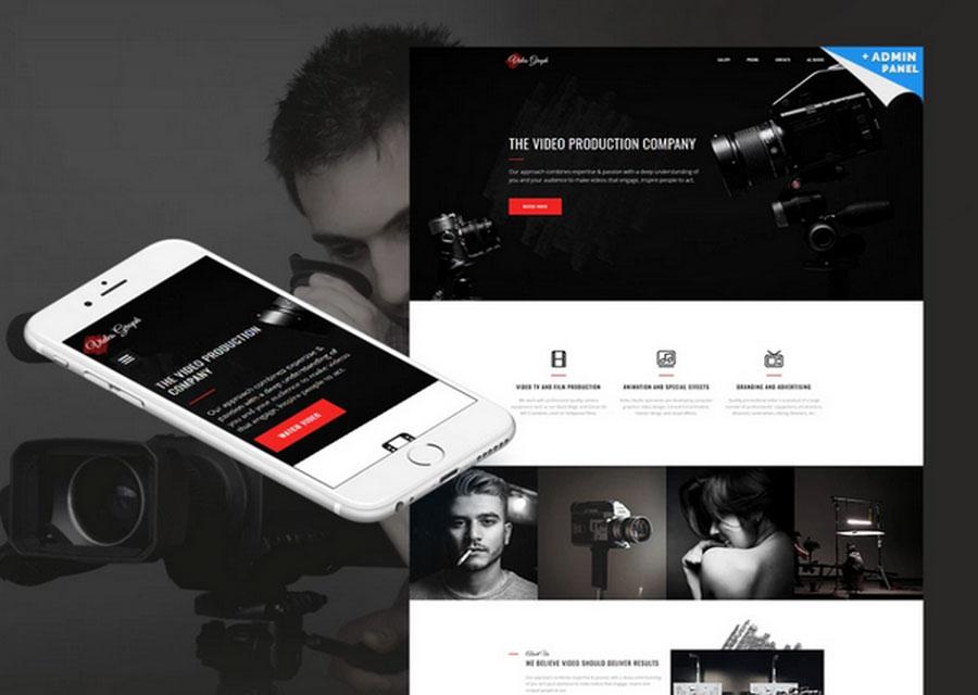 template website builder 25