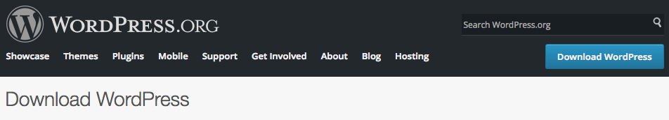 Tải WordPress mới nhất
