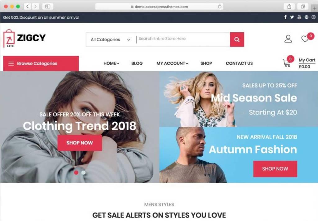 ziggy theme WordPress free